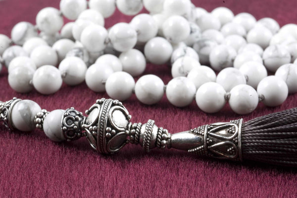 White Howlite Prayer Beads