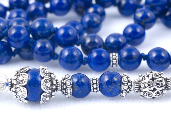 Blue Lapis Lazuli Prayer Beads