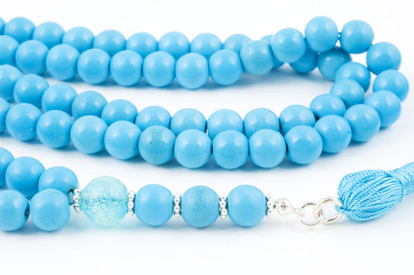 Chalk Turquoise Prayer Beads