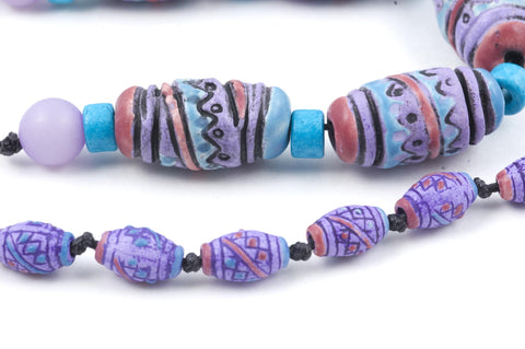 Peruvian Ceramic Prayer Beads