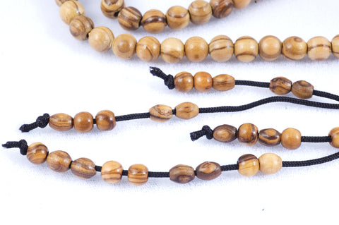 Olive Wood Prayer Beads