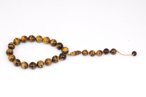 Brown Tiger Eye Prayer Beads (19+5)