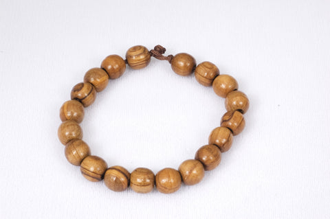 Bethlehem Olive Wood Prayer Beads Bracelet