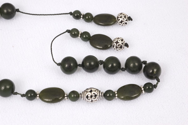 Nephrite Jade Prayer Beads (19+5)