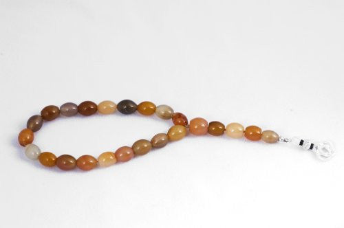 Red Agate 19+5 prayer beads