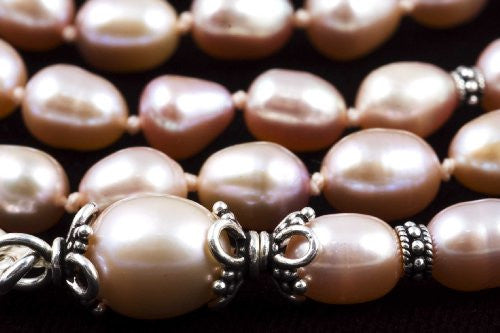 Cultured Fresh-Water Pearl Prayer Beads