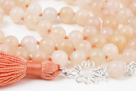 Pink Aventurine Prayer Beads