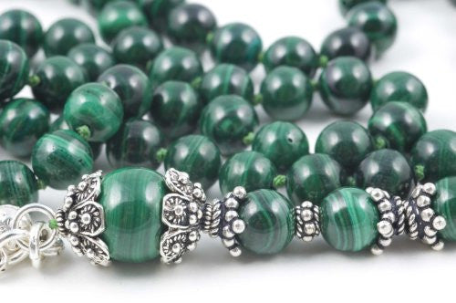 Green Malachite Prayer Beads