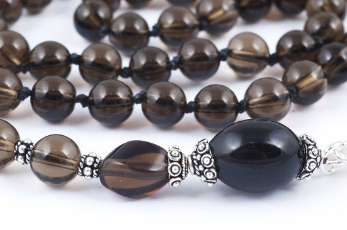 Smoky Quartz Prayer Beads