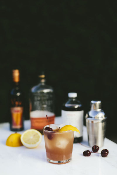 Backwoods Bourbon Punch