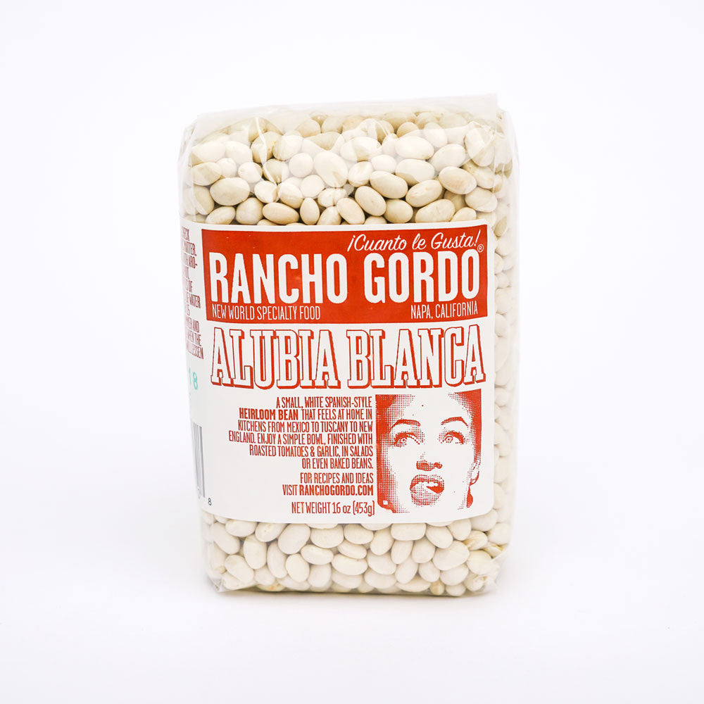 Alubia Blanca Heirloom Beans by Rancho Gordo in the PHYLA Shop! Curate Your Own Gift Box