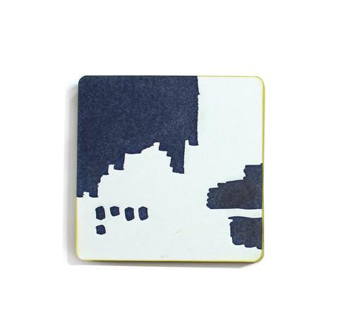 Dot Abstract Letterpress Coasters by Moglea in the PHYLA Shop! Curate Your Own Gift Box