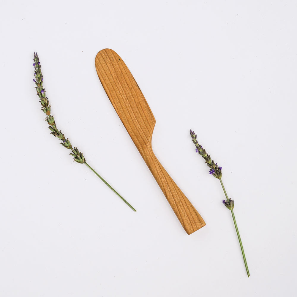 Cherry Wood Cheese Knife by Four Leaf Wood Shop in the PHYLA Shop! Curate Your Own Gift Box