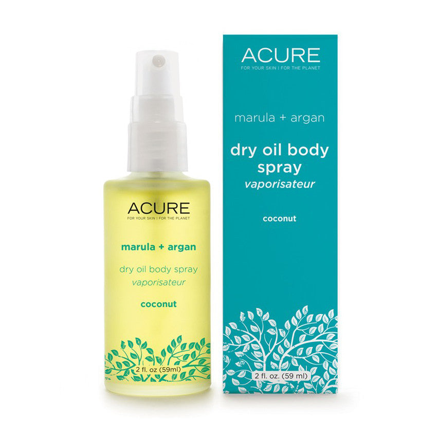 Coconut Marula + Argan Dry Oil Body Spray