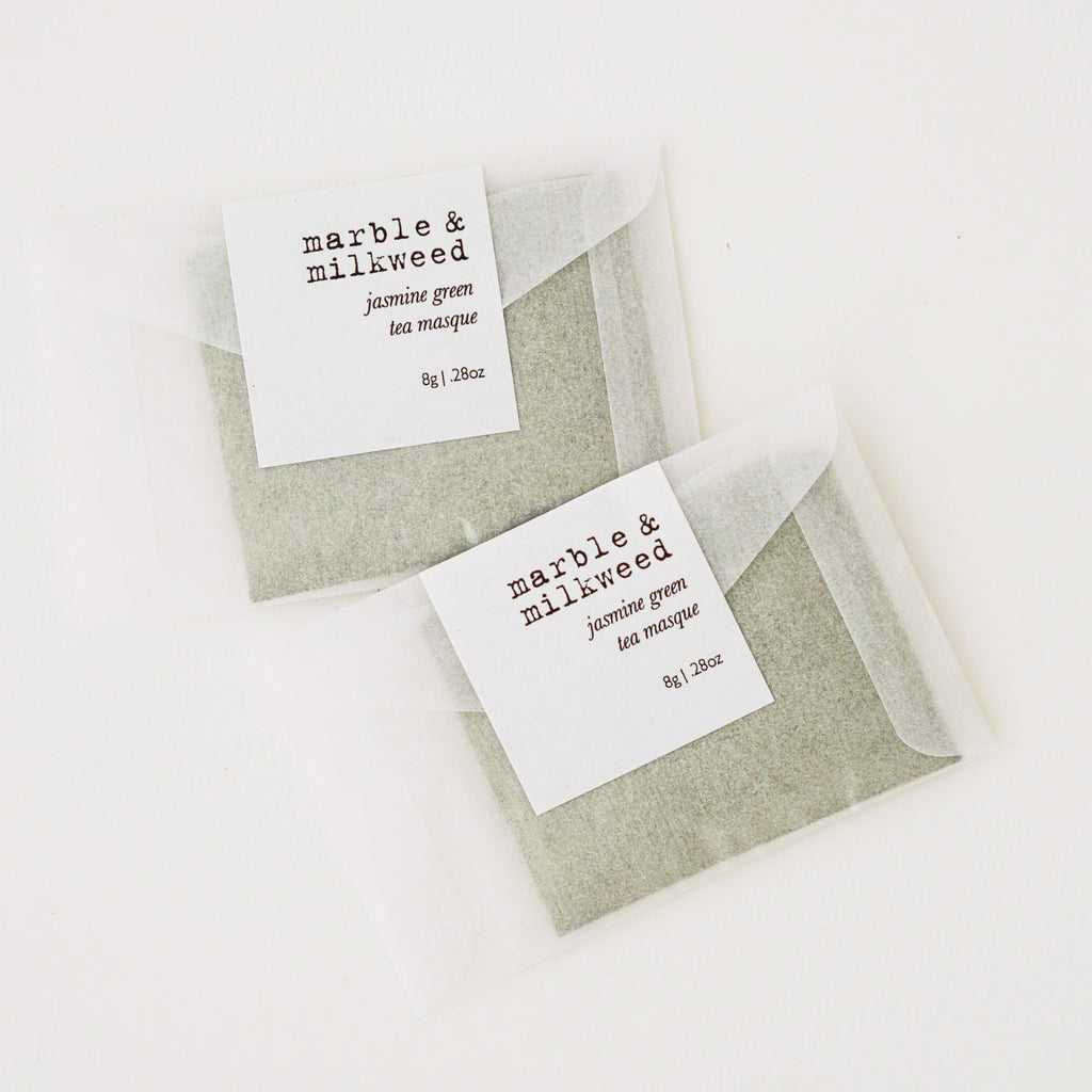 Jasmine Green Tea Masque by Marble & Milkweed in the PHYLA Shop! Curate Your Own Gift Box