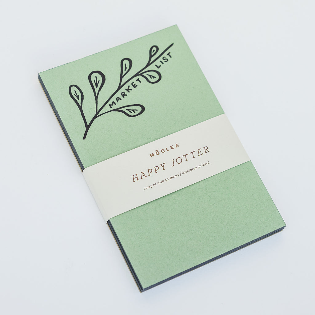 Market List Jotter Note Pad
