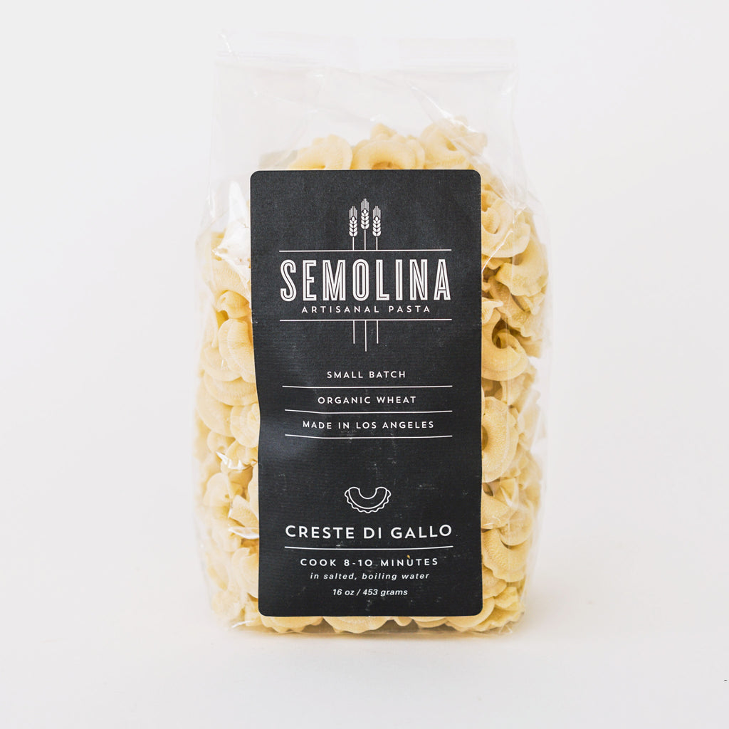 Creste di Gallo Pasta by Semolina Artisanal Pasta in the PHYLA Shop! Curate Your Own Gift Box