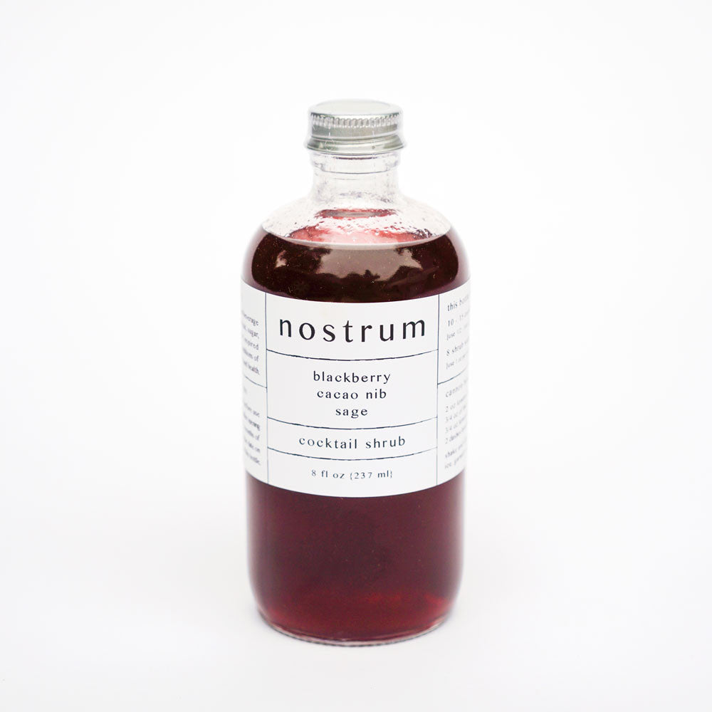 Blackberry Cacao Nib Sage Shrub by Nostrum in the PHYLA Shop! Curate Your Own Gift Box