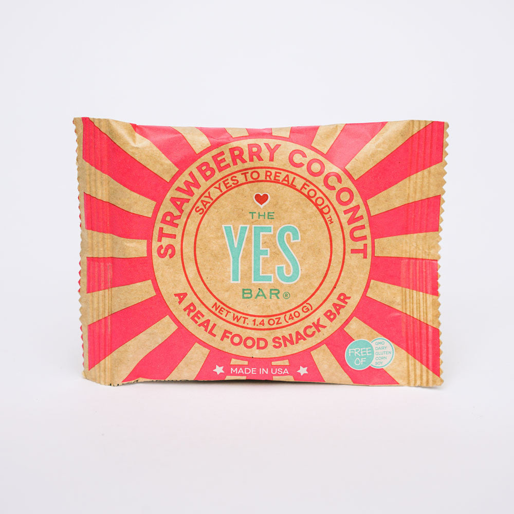 Strawberry Coconut YES Bar by The YES Bar in the PHYLA Shop! Curate Your Own Gift Box