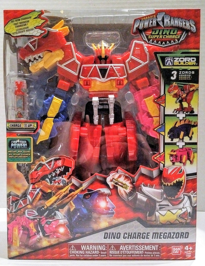 Power Rangers Dino Super Charge Dino Charge Megazord
