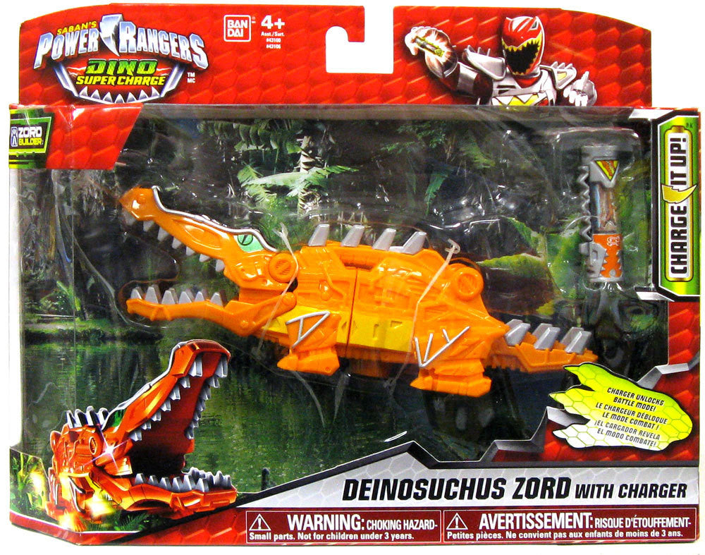 - Power Rangers Dino Super Charge - Deinosuchus Zord With Charger