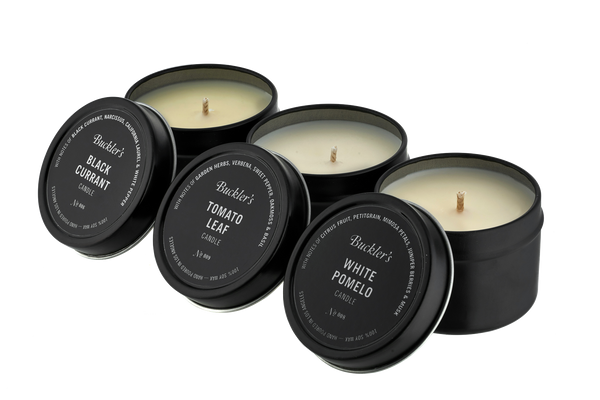 Travel Tin Candle 3-Pack