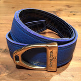 ManeJane Belt w/Buckle - Blue