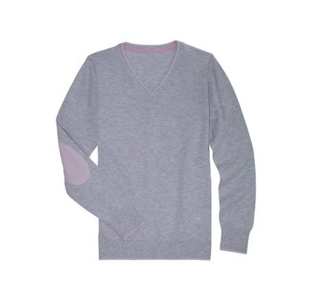 ESSEX V NECK  SWEATER
