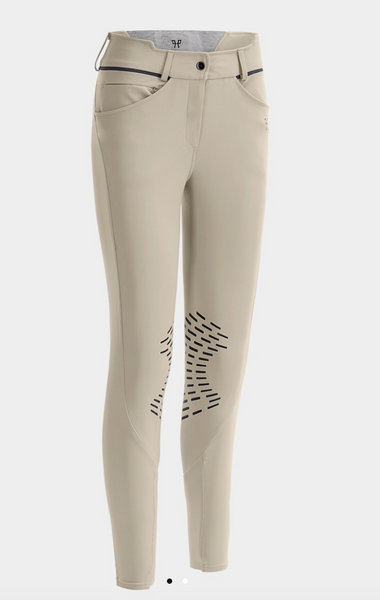 HORSE PILOT LADIES GRIP X DESIGN BREECHES