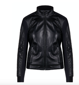 CT LEATHER BOMBER JACKET