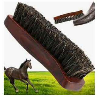 BOOT POLISH BUFFER BRUSH