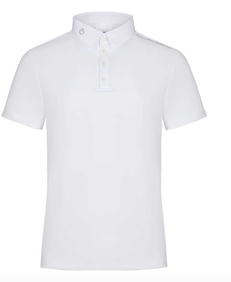 CAVALLERIA TOSCANA TECH PIQUET POLO