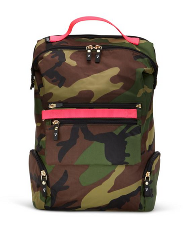 CAMO & BLK BACKPACKS