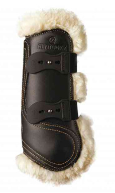 KENTUCKY SHEEPSKIN FRONT LEATHER BOOTS