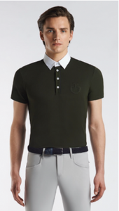 CAVALLERIA TOSCANA PIQUET PIPING POLO MENS