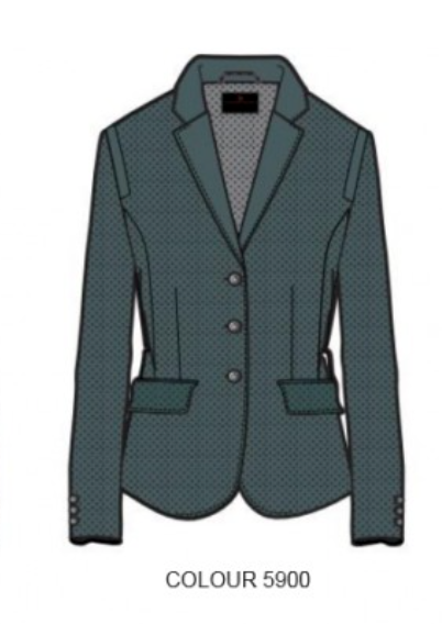 CAVALLERIA TOSCANA ALL OVER PERFORATED SHOW JACKET