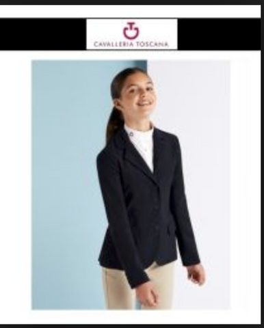 CAVALLERIA TOSCANA GIRLS COMPETITION RIDING JACKET