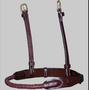 DYON ROPE LEATHER COVERED NOSEBAND