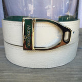 ManeJane Belt w/Buckle - White