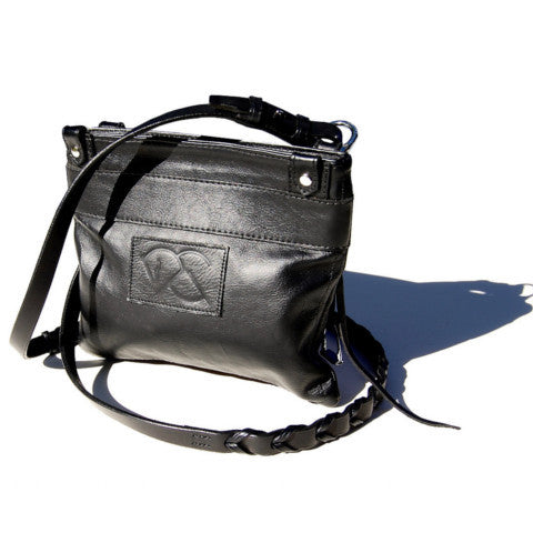 ateliercg arabian crossover bag in black