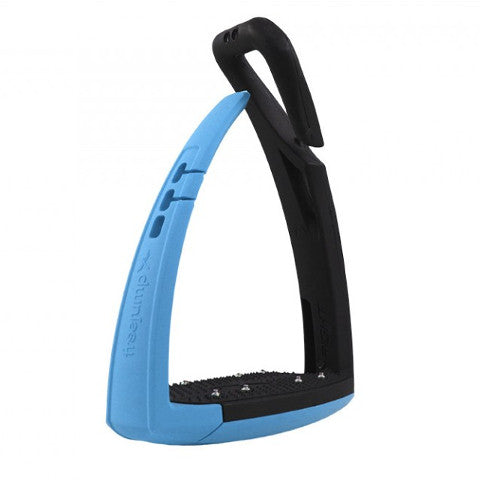Freejump Soft'Up Stirrup Irons - Light Blue