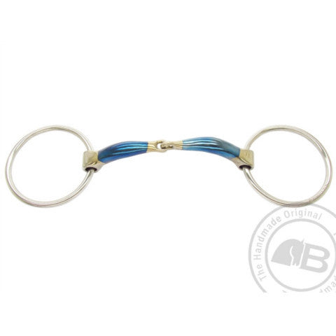 Bomber Loose Ring Snaffle Bit