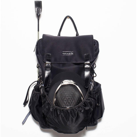 MaeLore Black Backpack