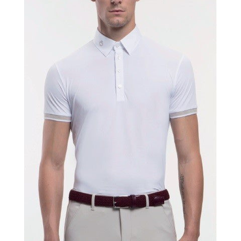 Cavalleria Toscana Mens Piquet Stretch Polo