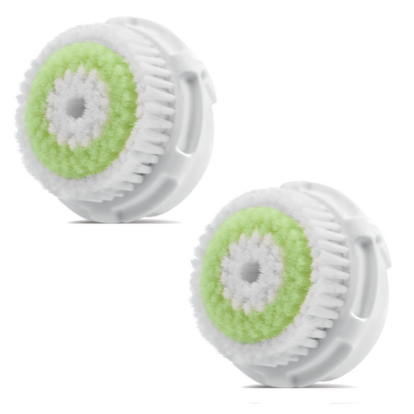 FacialSource Clarisonic Replacement Acne Cleansing Brush Head - Twin Pack