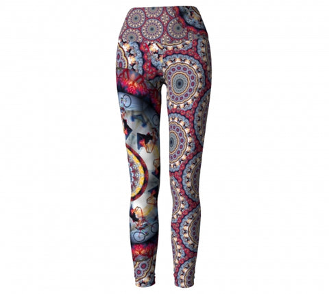 Sister Bad Habit Asheville Yoga Leggings front