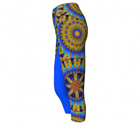 Jackson Asheville Yoga Capris Side