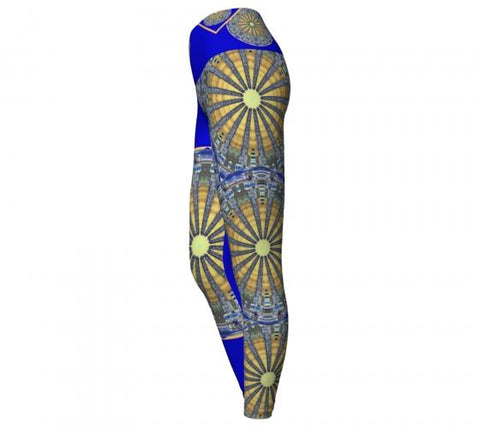 Rarefaction Asheville Yoga Leggings side