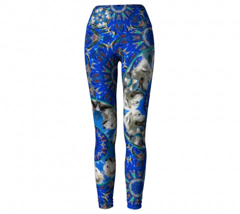 Custom Leggings Wendy Newman Designs dog3