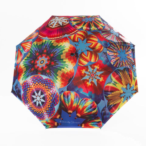 'Sunshade'  reverse Balloon Umbrella Wendy Newman Designs outside